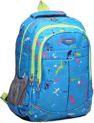 Рюкзак детский Колор цвет голубой 1675399