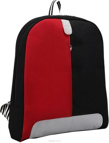 Рюкзак детский Пижон цвет красный черный 2798281