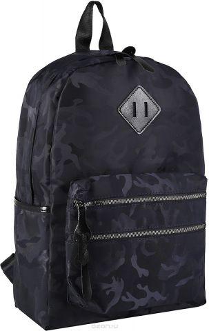 Рюкзак детский Миллитари цвет темно-синий 2820232