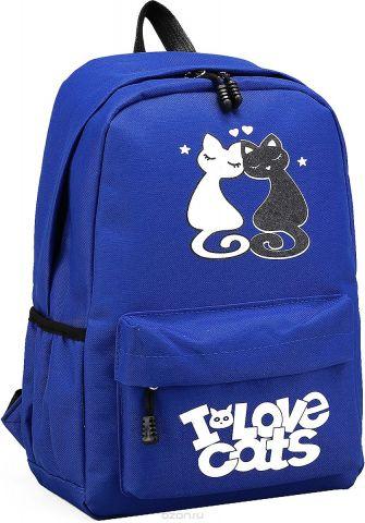 Рюкзак детский Любовь цвет синий 2826021