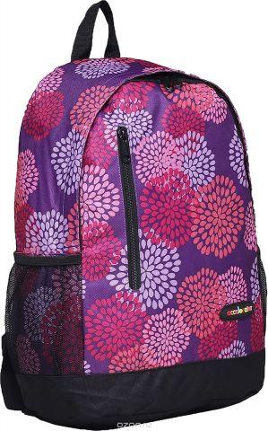 Рюкзак детский Цветы цвет фиолетовый 1661035