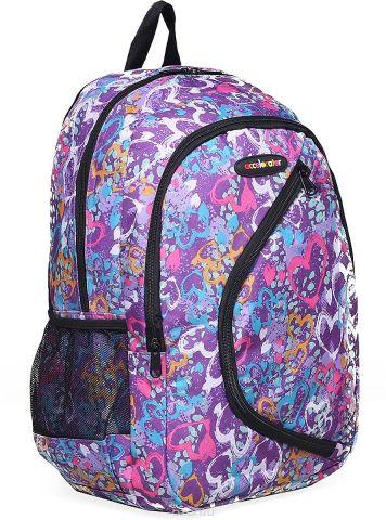 Рюкзак детский Сердца цвет фиолетовый 1661094
