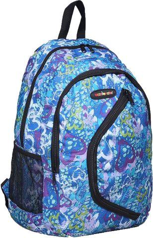 Рюкзак детский Сердца цвет голубой 1661096