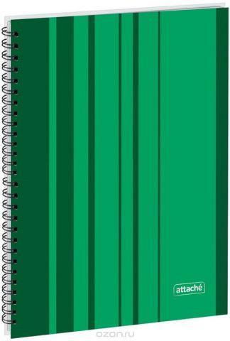 Attache Тетрадь Сoncept 120 листов в клетку формат А4 цвет зеленый