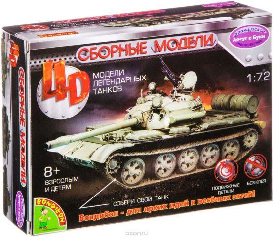 Воndibon Сборная 4D модель танка М1:72 ВВ2519
