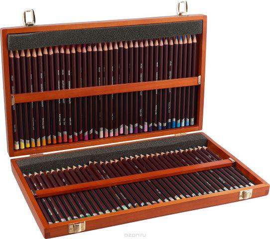 Derwent Набор цветных карандашей Coloursoft 72 цвета 0701031