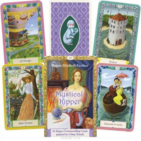 Карты Таро AGMuller Oracle cards Mystical Kipper