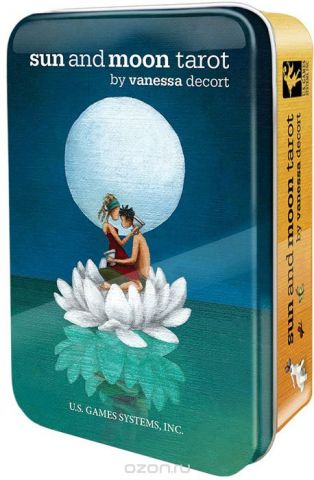 Карты Таро U.S. Games Systems Sun and Moon Tarot in a Tin