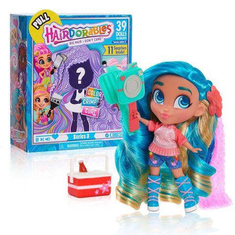 """Hairdorables 23725 Кукла-загадка """"Яркие вечеринки"""""""