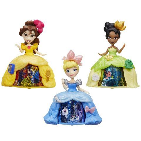 Hasbro Disney Princess B8962 Маленькая кукла с волшебной юбкой (в ассортименте)