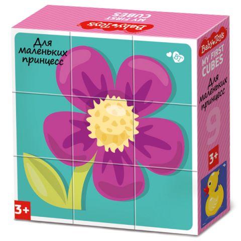 "BABY TOYS TD03534 Кубики ""Для маленьких принцесс"", 9 шт"