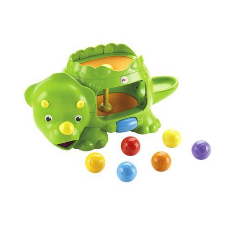 Mattel Fisher-Price DHW03 Фишер Прайс Динозавр с шариками