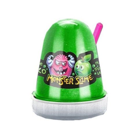"KiKi SL002 ""Monster's Slime Fluffy"" Сочное Яблоко 130 гр."