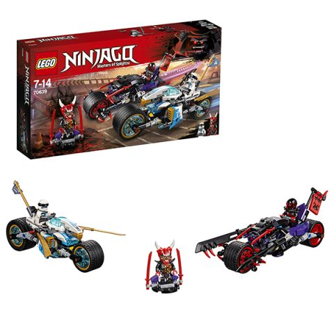 LEGO Ninjago 70639 Конструктор ЛЕГО Ниндзяго Уличная погоня