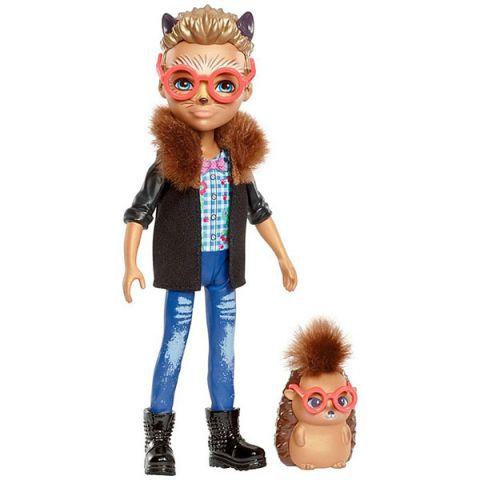 Mattel Enchantimals FJJ22 Кукла с любимой зверюшкой – Хиксби ежик
