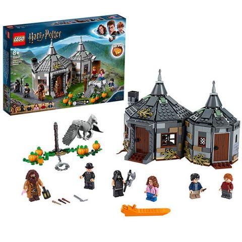 LEGO Harry Potter 75947 Конструктор ЛЕГО Гарри Поттер Хижина Хагрида: спасение Клювокрыла