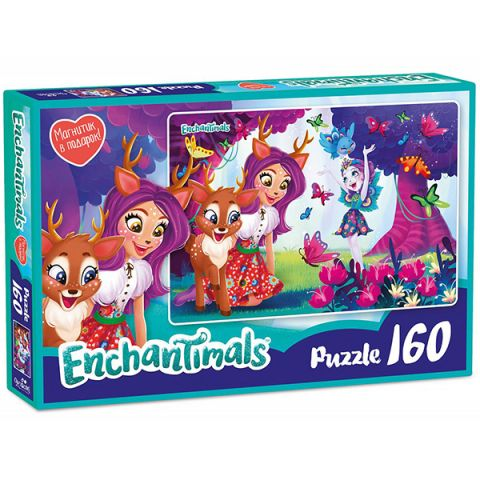 Enchantimals AST188874 Пазл Даниэсса и Пэттер 160 элементов