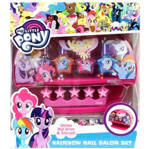 Markwins 9806651 My Little Pony Игровой набор детской декоративной косметики с сушкой лака