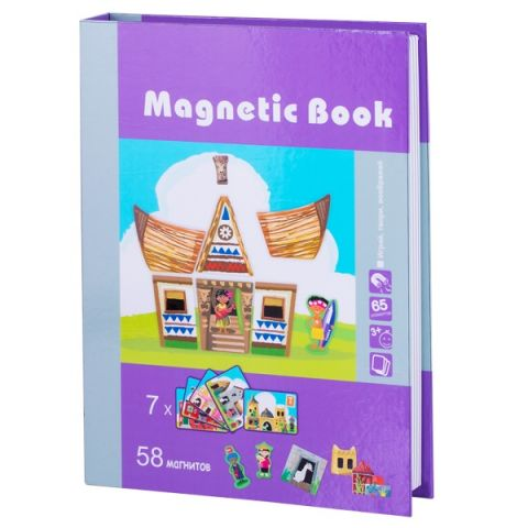 """Magnetic Book TAV027 Развивающая игра """"Строения мира"""""""