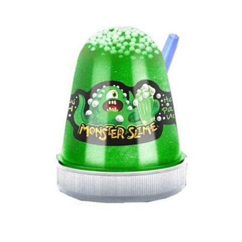 "KiKi SL008 ""Monster's Slime Fluffy"" Газированный тархун 130 гр."
