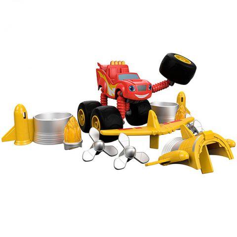 Mattel Blaze DYP38 Вспыш и чудо-машинки Трансформер