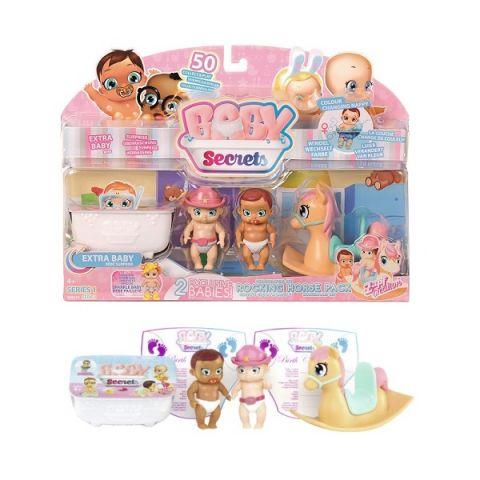 Zapf Creation Baby Secrets 930-144 Бэби Секрет Набор с лошадкой-качалкой