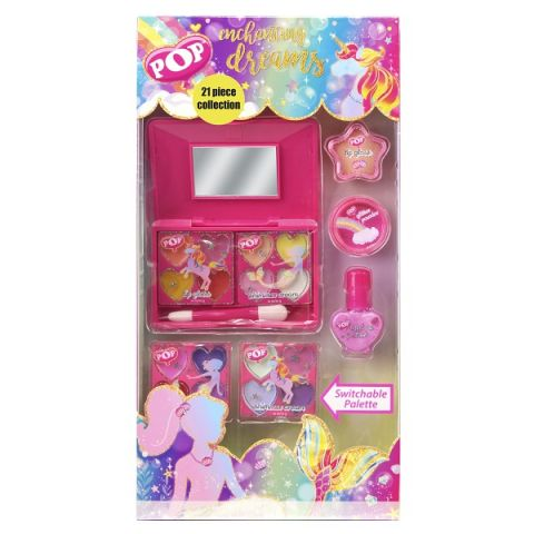 Markwins 3800351 POP Игровой набор детской декоративной косметики для лица и ногтей