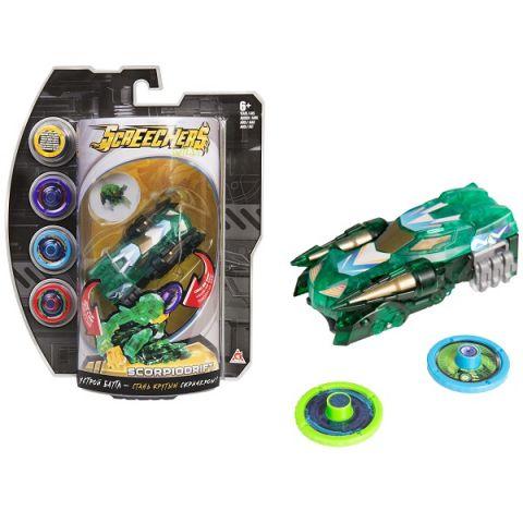 Screechers Wild 35895 Дикие Скричеры Машинка-трансформер Скорпиодрифт л3