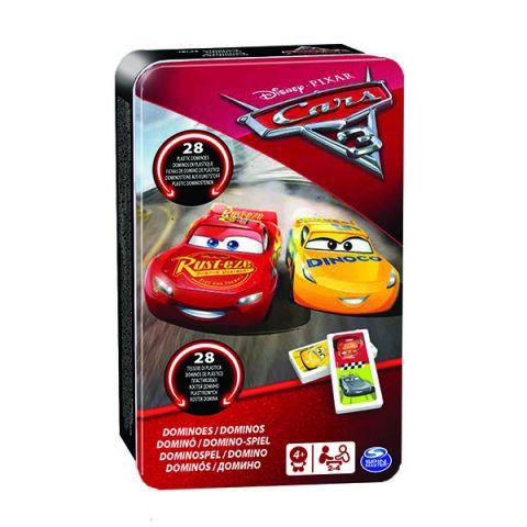 Spin Master 6035600 Настольная игра Домино Disney Тачки-3