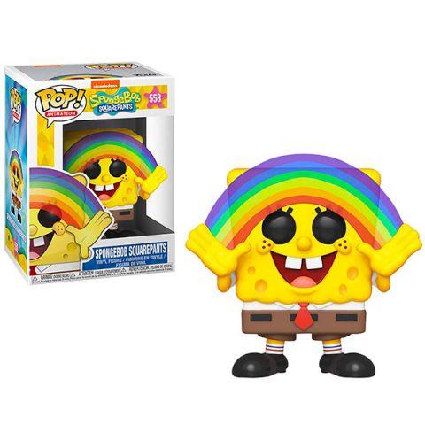 Funko 39552F Фигурка Funko POP! Vinyl: Spongebob S3: Spongebob Rainbow 39552