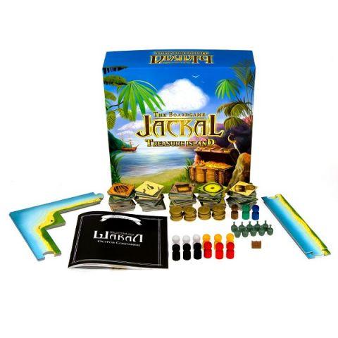 Magellan MAG00404 Настольная игра Шакал:остров сокровищ