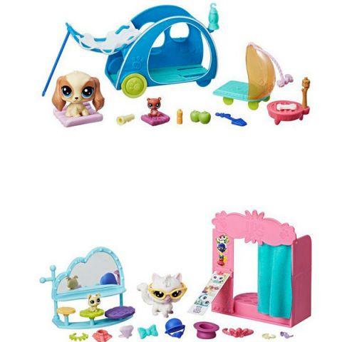 """Hasbro Littlest Pet Shop E0393 Литлс Пет Шоп Игровой набор """"Хобби Петов"""""""