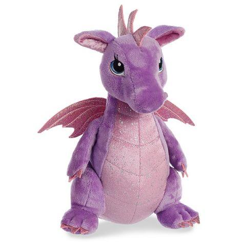 Aurora 170415B Дракон фиолетовый, 30 см