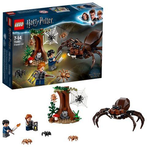 LEGO Harry Potter 75950 Конструктор ЛЕГО Гарри Поттер Логово Арагога