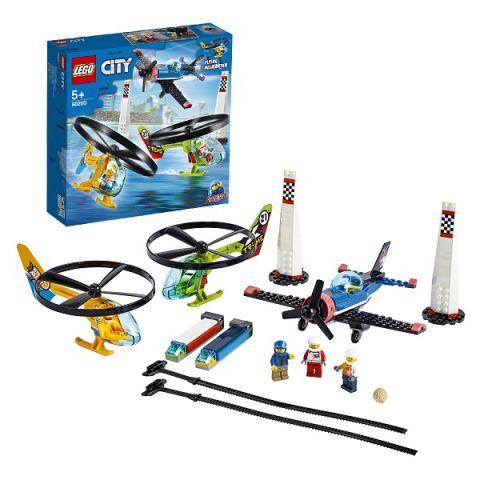 LEGO City 60260 Конструктор ЛЕГО Город Airport Воздушная гонка