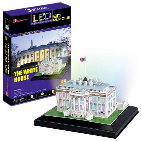 Cubic Fun L504h Кубик фан Белый дом с иллюминацией (Вашингтон)