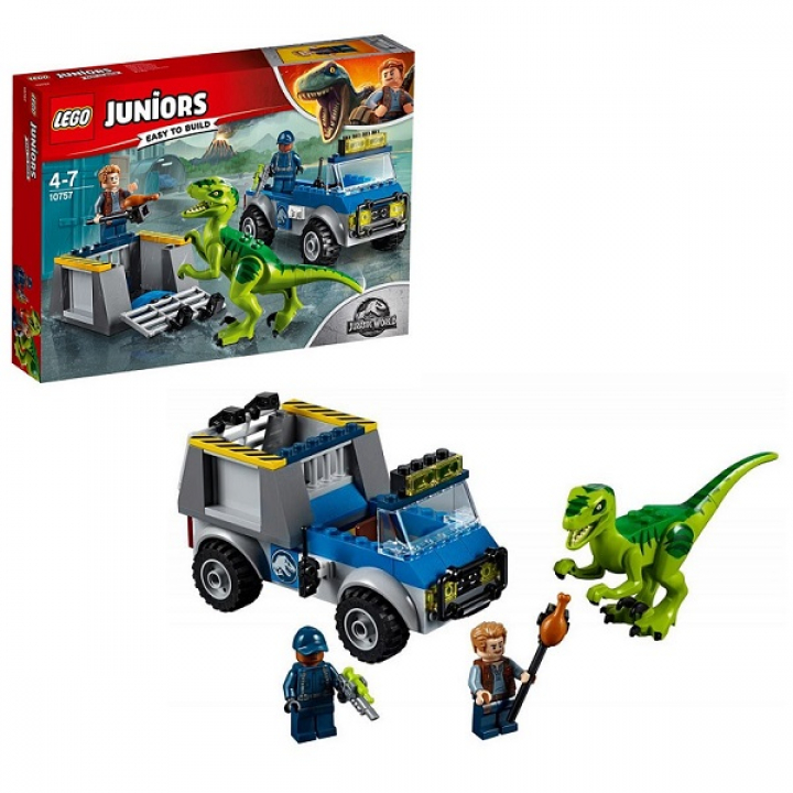 Купить <b>LEGO Juniors 10757 Конструктор</b> ЛЕГО Jurassic World ...
