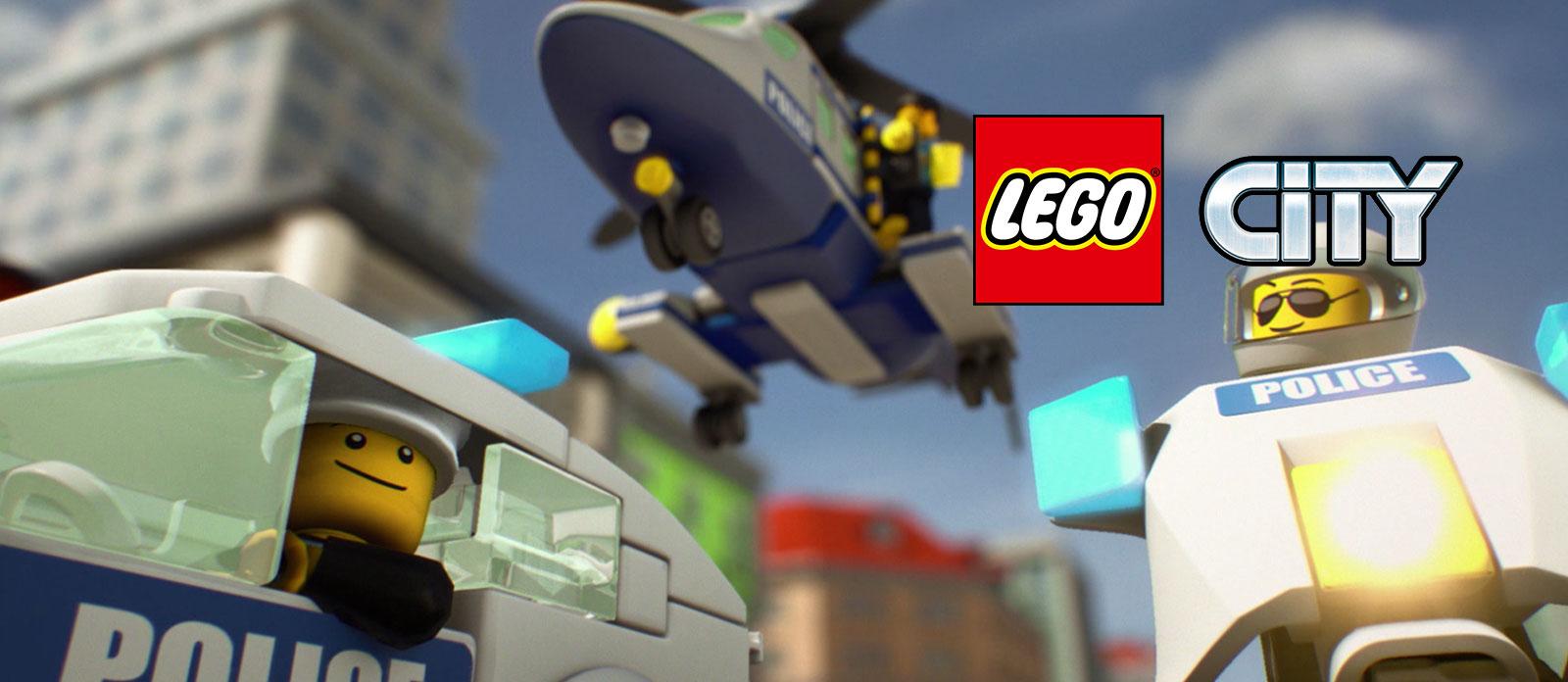 LEGO City 60275 Конструктор ЛЕГО Город Полицейский вертолёт